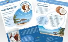 Ulotka produktowa Olej Kokosowy