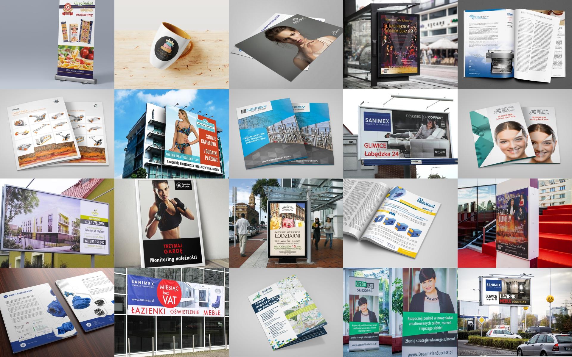 Produkcja materiałów reklamowych