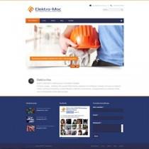 Elektro-Moc – branding marki, serwis www