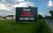"Billboard ""Twarda windykacja"""