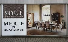 """Billboard """"S.O.U.L. Meble ze Skandynawii"""""""
