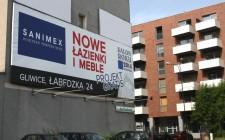 "Banner ""Nowe łazienki i meble"""