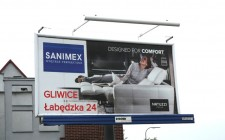 "Billboard ""Natuzzi. BRIO. Designed for comfort"""