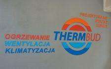 Oznaczenia siedziby firmy Thermbud