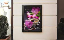 Plakat reklamowy Cafe Dolce Vita