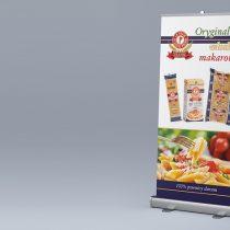 """Banner targowy marki """"Gastronomiczne Specjały"""""""