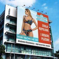 Billboard reklamowy Akademii Biustonosza – LATO 2018