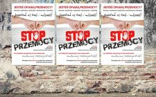"""Plakaty wspierające akcję """"Stop Przemocy"""""""