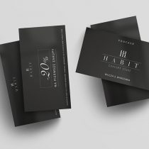 Vouchery na pierwsze zakupy z rabatem w Habit Concept Store