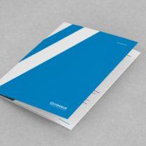 Folder reklamowy GlasHaus Sp. z o.o.