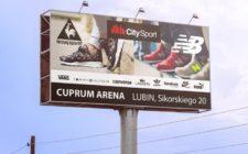 Billboard CitySport w Lubinie