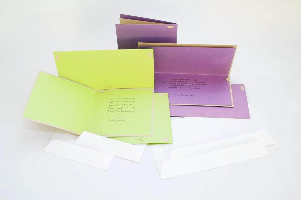 Kartki świąteczne dla firm – kolekcja MOLIA design